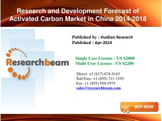 China Activated Carbon Market-Size 2014-2018