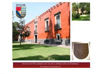 Presentación de PROGRAMAS ESPECIALES  del  Instituto Panamericano de Alta Dirección de