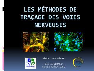Les Méthodes de traçage des voies nerveuses