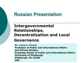 Russian Presentation