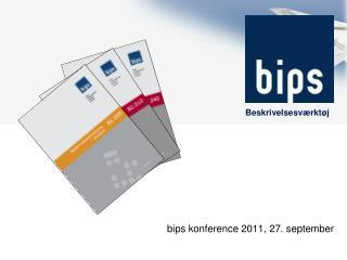 b ips konference 2011, 27.  september