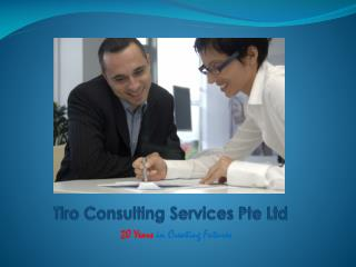 Tiro Consulting Services Pte Ltd