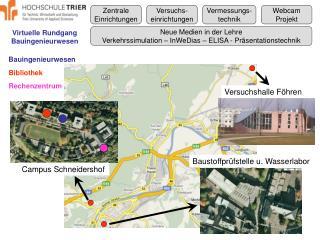 Virtuelle Rundgang Bauingenieurwesen