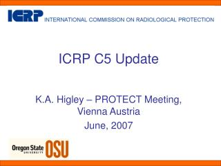 ICRP C5 Update