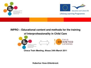 INPRO – Educational content and methods for the training  of Interprofessionality in Child Care