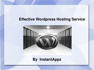 Effective Web Hosting Service