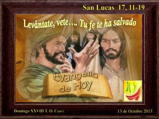 San Lucas  17, 11-19