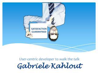 Gabriele Kahlout
