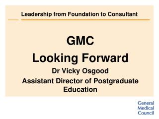 Leadership from Foundation to Consultant