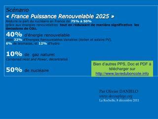 Par Olivier DANIELO decouplage La Rochelle, 8 décembre 2011