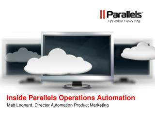 Inside Parallels Operations Automation