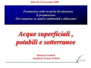 Rieti 26-27 novembre 2009