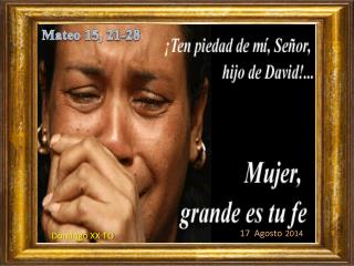 Mateo 15 , 21-28