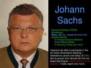 Johann Sachs