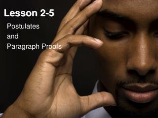 Lesson 2-5