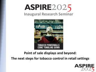 Inaugural Research Seminar