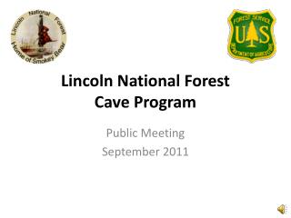 Lincoln National Forest Cave Program