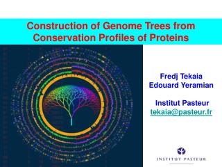 Construction of Genome Trees from Conservation Profiles of Proteins
