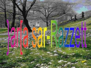 }ar[a sar-Razzett