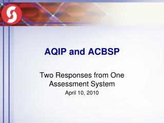 AQIP and ACBSP