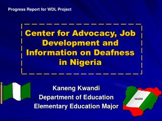 Center for Advocacy, Job Development and Information on Deafness in Nigeria