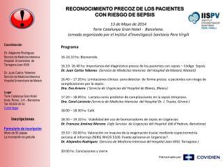RECONOCIMIENTO PRECOZ DE LOS PACIENTES                           CON RIESGO DE SEPSIS