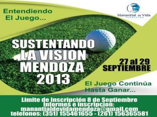 Sustentando la Visión Mendoza 2013