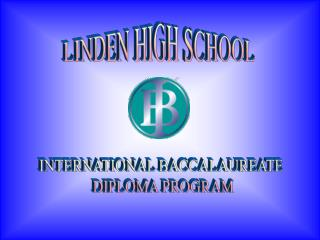 LINDEN HIGH SCHOOL