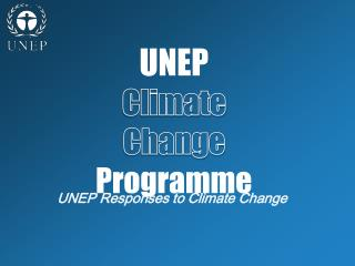 UNEP Climate  Change Programme