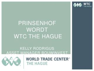 prinsenhof wordt Wtc  The Hague  Kelly rodrigus asset  manager  Bouwinvest