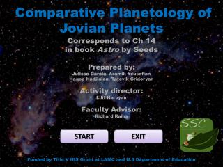 Comparative  Planetology  of Jovian Planets