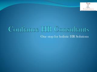 Confiance HR Consultants