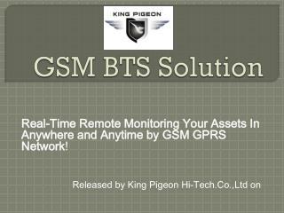 GSM  BTS Solution