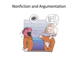 Nonfiction and Argumentation