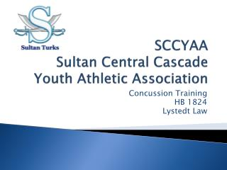 SCCYAA Sultan Central Cascade Youth Athletic Association
