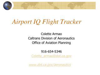 Airport IQ Flight Tracker