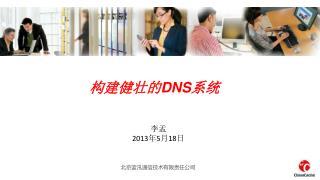 构建健壮的 DNS 系统