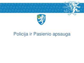 Policija ir Pasienio apsauga