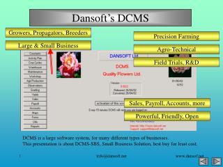 Dansoft's DCMS