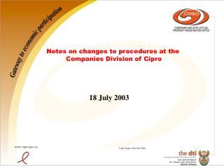 18 July 2003