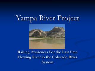 Yampa River Project