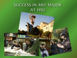 Success in Any Major at HSU