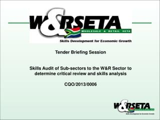 Tender Briefing Session