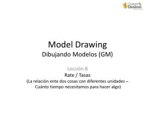 Model Drawing Dibujando  Modelos  (GM)
