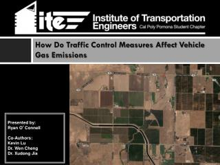 How Do Traffic Control Measures Affect Vehicle Gas Emissions