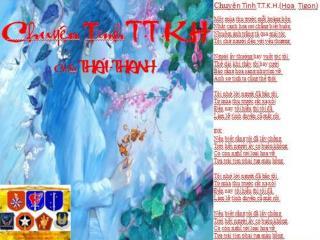 Chuye�n T�nh  T.T..K.H