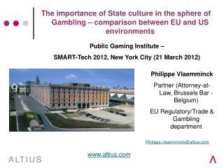 Philippe Vlaemminck Partner (Attorney-at-Law, Brussels Bar - Belgium)
