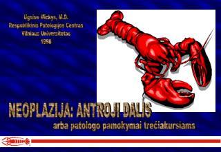 Ugnius Mickys, M.D. Respublikinis Patologijos Centras Vilniaus Universitetas 1998