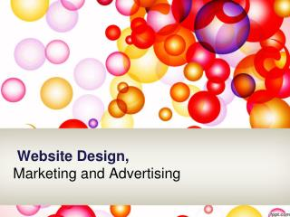 Website Design Marketing and Advertising