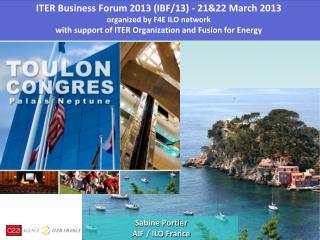 Sabine Portier AIF / ILO France